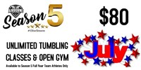 July 2020 Unlimited Tumbling